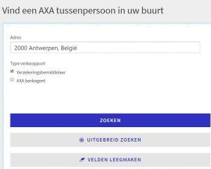AXA verzekeringen kantoren